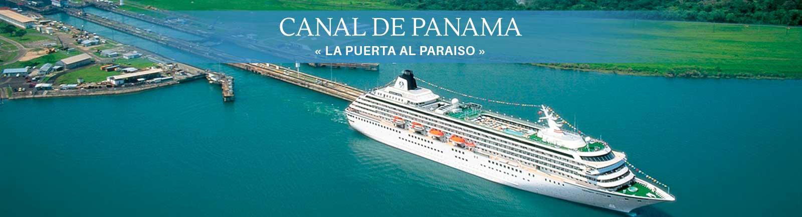 Destino Canal de Panamá