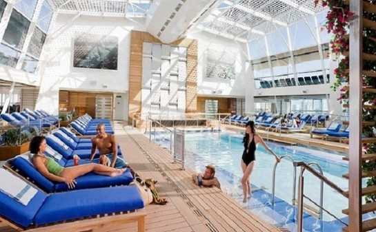Interior Barco Celebrity Solstice