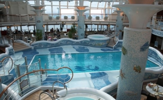 Interior Barco Crown Princess