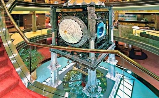 Interior Barco ms Amsterdam
