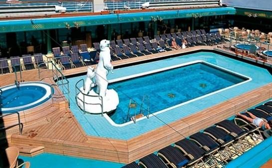 Barco ms Zuiderdam