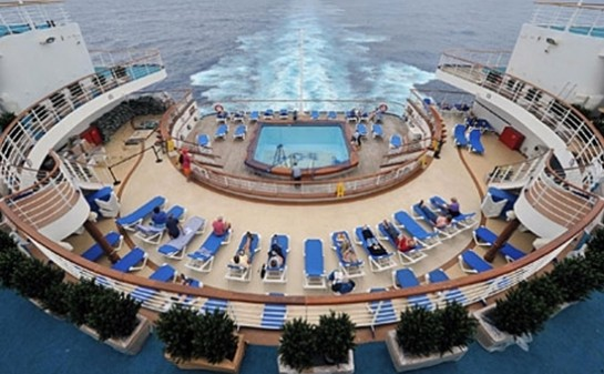 Interior Barco Grand Princess