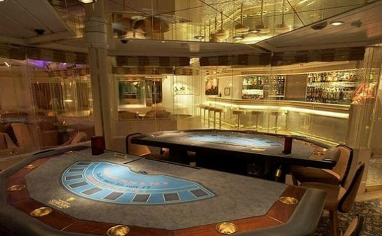Interior Barco SeaBourn Odyssey