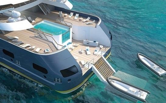 Barco Le Champlain