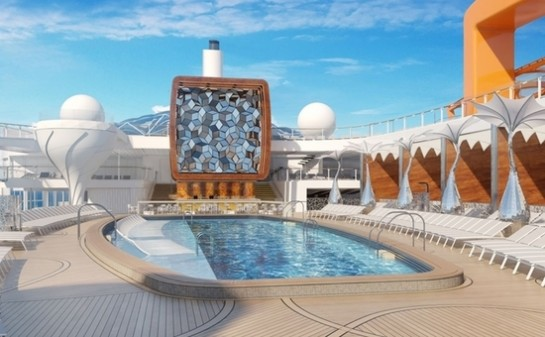 Interior Barco Celebrity Edge
