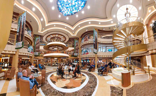 Interior Barco Sky Princess