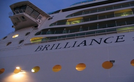 Barco Brilliance of the Seas