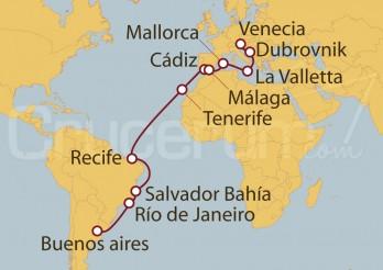 Crucero De Buenos Aires (Argentina) a Venecia