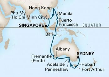 Crucero Gran Viaje por el Mundo