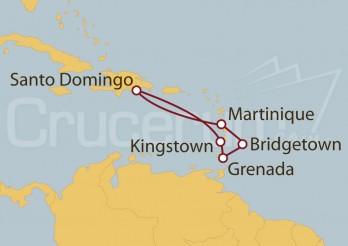 Crucero Islas del Caribe y Barbados