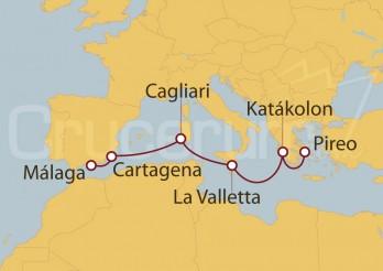 Crucero Mediterráneo y Mar Egeo