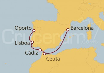 Crucero Península Ibérica