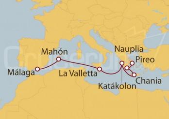 Crucero Del Mediterráneo al mar Egeo