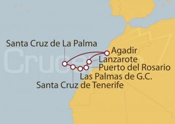 Crucero Islas Canarias desde Tenerife