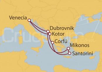Crucero Adriático y Grecia desde Venecia