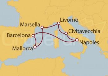 Crucero Mediterráneo Clásico