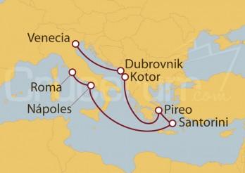 Crucero Adriático ,Grecia e Italia desde Venecia