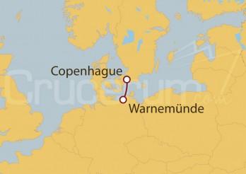 Crucero Minicrucero 2 días: Copenhague y Berlín