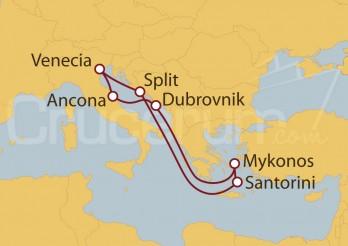 Crucero Mar Adriático y Grecia desde Venecia