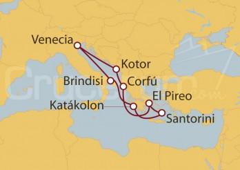 Crucero El irresistible encanto de Grecia