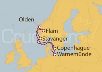 Crucero Países Nórdicos: Noruega desde Warnemünde