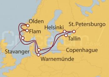 Crucero Capitales Bálticas y Países Nórdicos desde Warnemünde