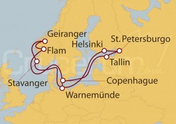Crucero Países Nórdicos de 15 días desde Warnemünde