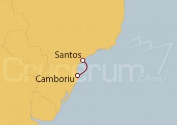 Crucero Santos, Camboriu, Santos