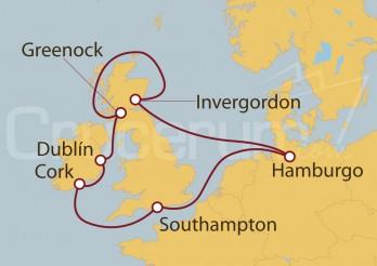 Crucero Tierras secretas, Escocia desde el mar