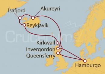 Crucero Del castillo de Edimburgo a los fiordos de Islandia