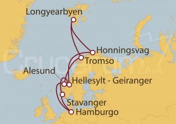 Crucero Noruega desde Hamburgo