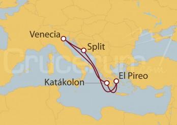 Crucero Venecia, Croacia, Atenas, Grecia