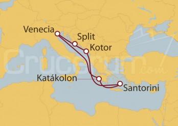 Crucero Venecia, Grecia, Montenegro, Croacia
