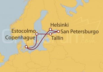 Crucero Capitales Bálticas desde Copenhague
