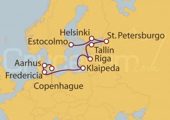 Crucero De Estocolmo (Suecia) a Copenhague (Dinamarca)