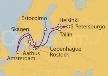 Crucero Capitales Bálticas desde Amsterdam