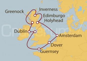 Crucero Islas Británicas desde Amsterdam