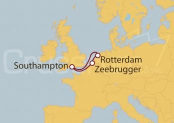 Crucero Holanda y Bélgica desde Southampton