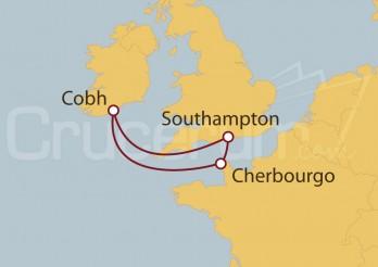 Crucero Francia e Irlanda desde Southampton