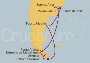 Crucero Sudamérica desde Buenos Aires