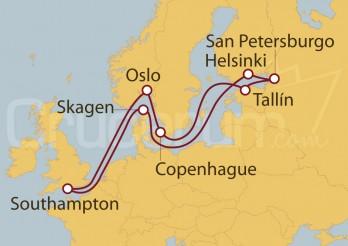 Crucero Viaje a la Mágica Escandinavia