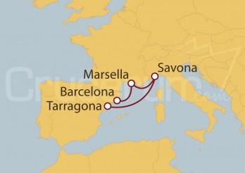 Crucero España, Francia, Italia IV