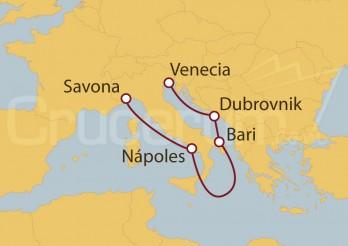 Crucero Italia, Croacia