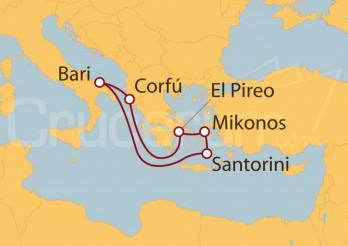 Crucero Grecia en el corazón