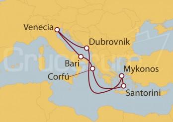 Crucero Zambullida en las Islas Griegas I