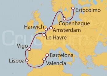 Crucero Navegación por el mar Báltico