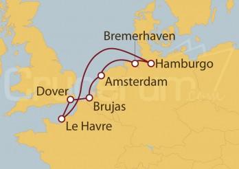 Crucero Holanda, Bélgica, Gran Bretaña, Francia, Alemania I
