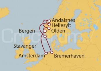 Crucero Holanda, Noruega y Alemania