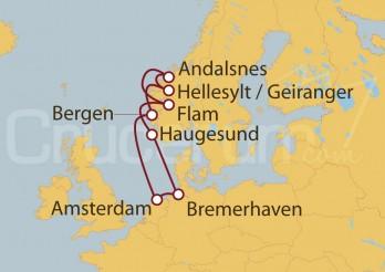 Crucero Holanda, Noruega, Alemania IV