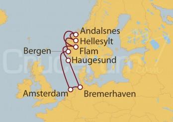 Crucero Holanda, Noruega, Alemania I